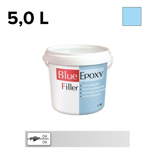 Ўпатлевка Blue Finishing Filler 5.0л